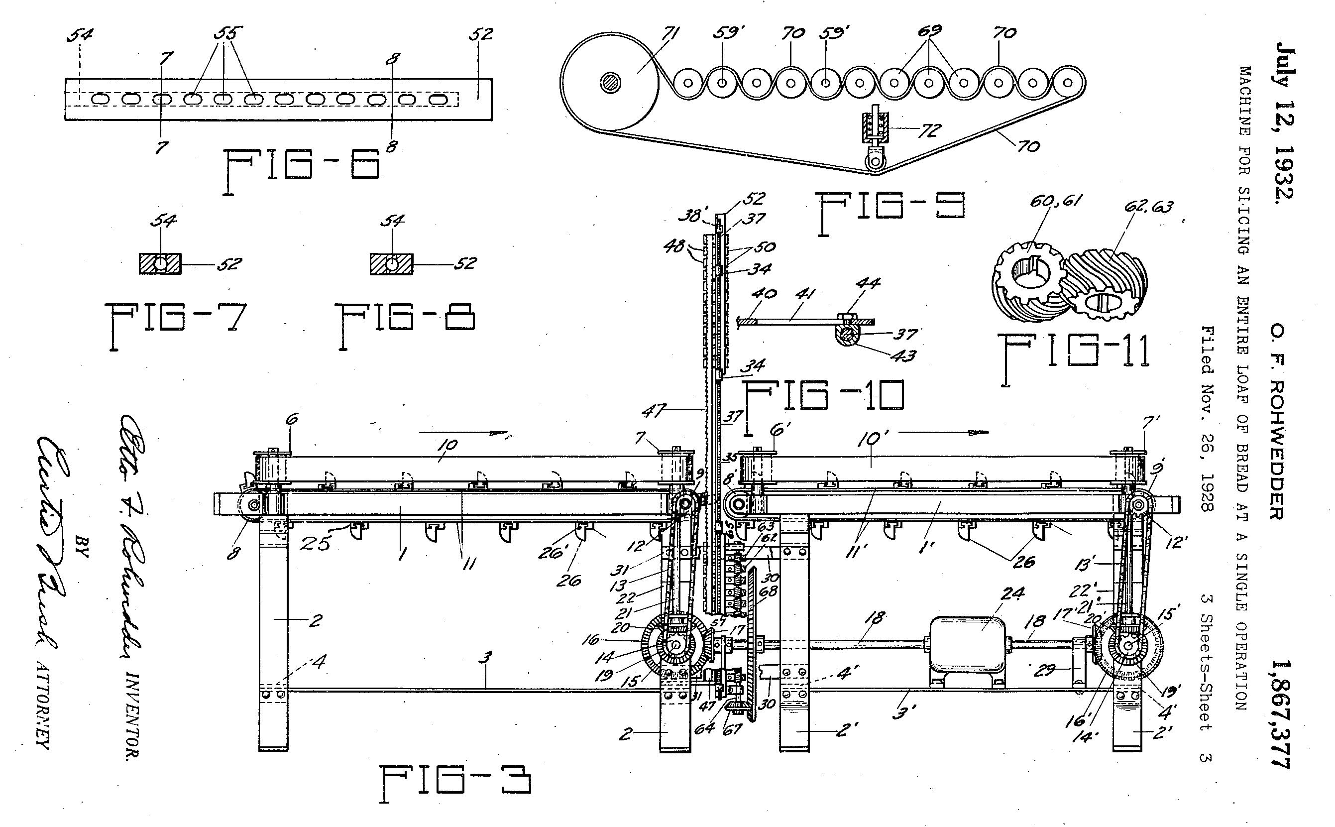 US1867377-2 patent claim Rohwedder