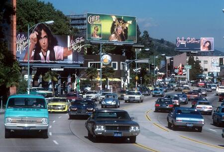Sunset Strip billboard-mainokset